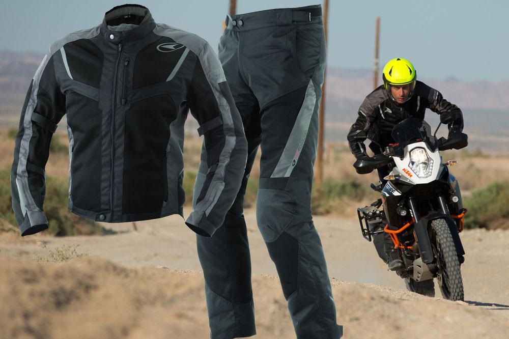 Chaqueta y pantalón ventilado para moto Axo Airflow