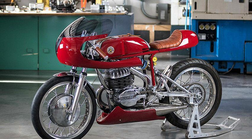Bultaco Alpina recovertida por Speed of Cheese Racing