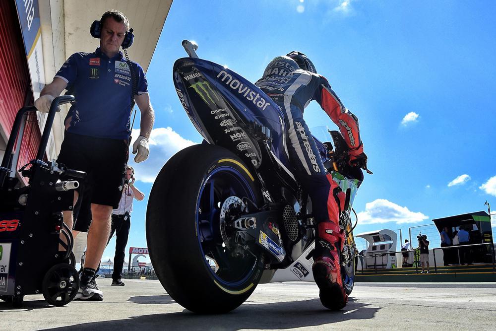 Michelin retira los neumaticos en el GP de Argentina