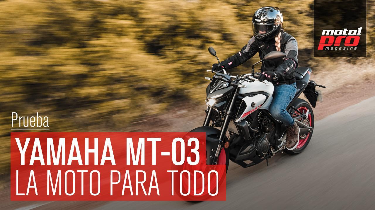 Yamaha MT03 2020 - La moto para todo