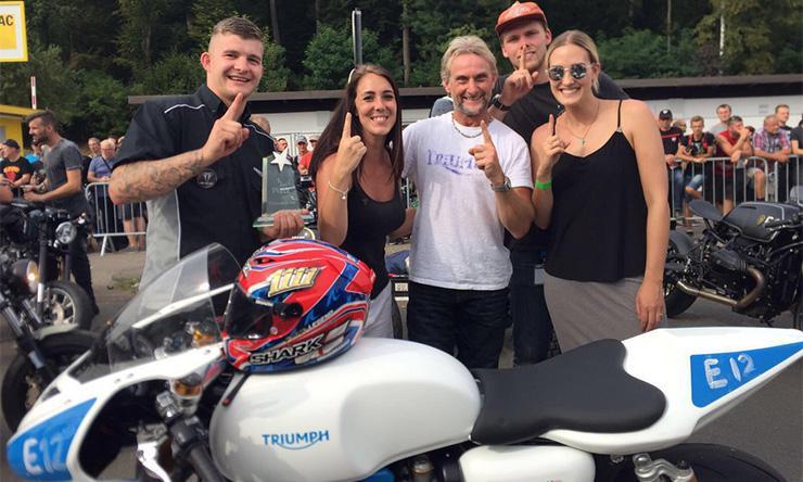 Carl Fogarty Triumph Glemseck 101