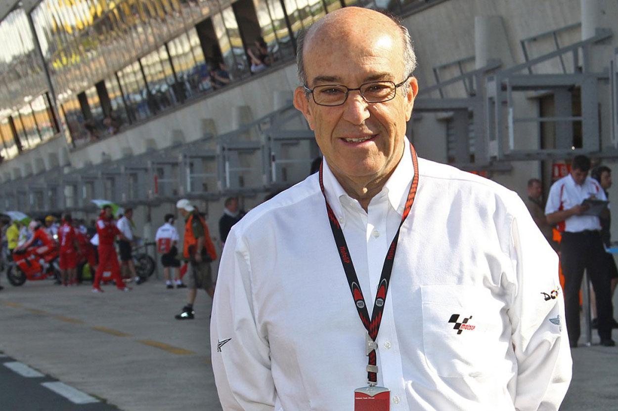 Carmelo Ezpeleta habla de cancelar el Mundial de MotoGP