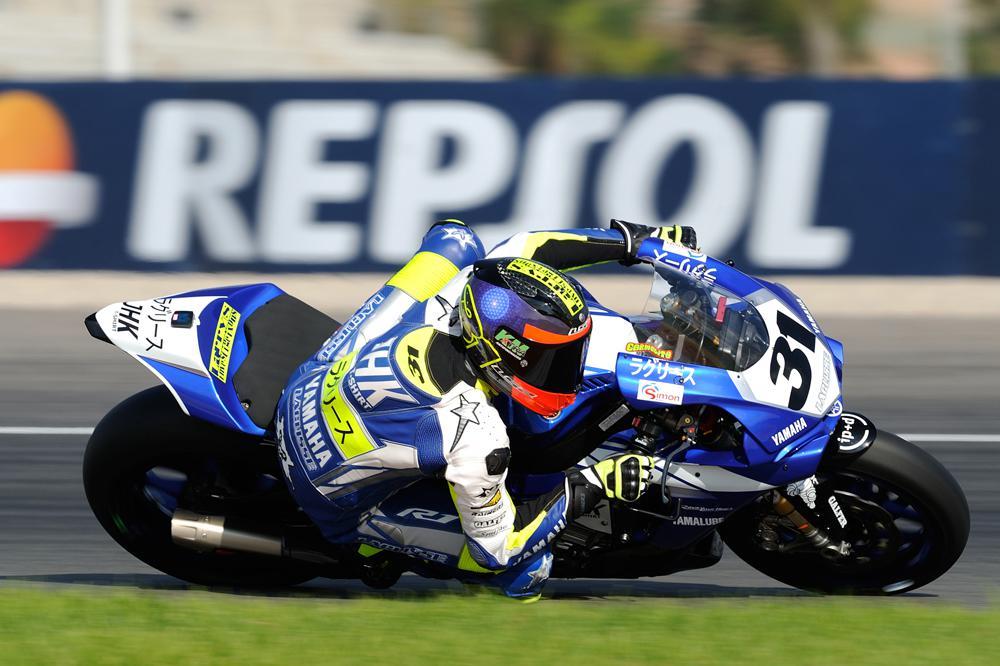 Carmelo Morales, campeón superbike CEV