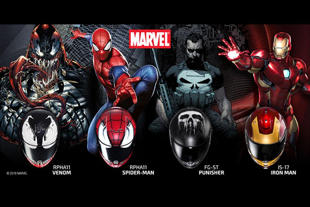 Casco HJC Marvel