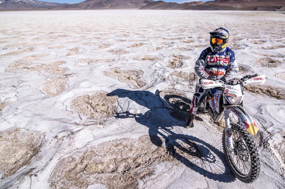 Chaleco Lopez, record con KTM Freeride E