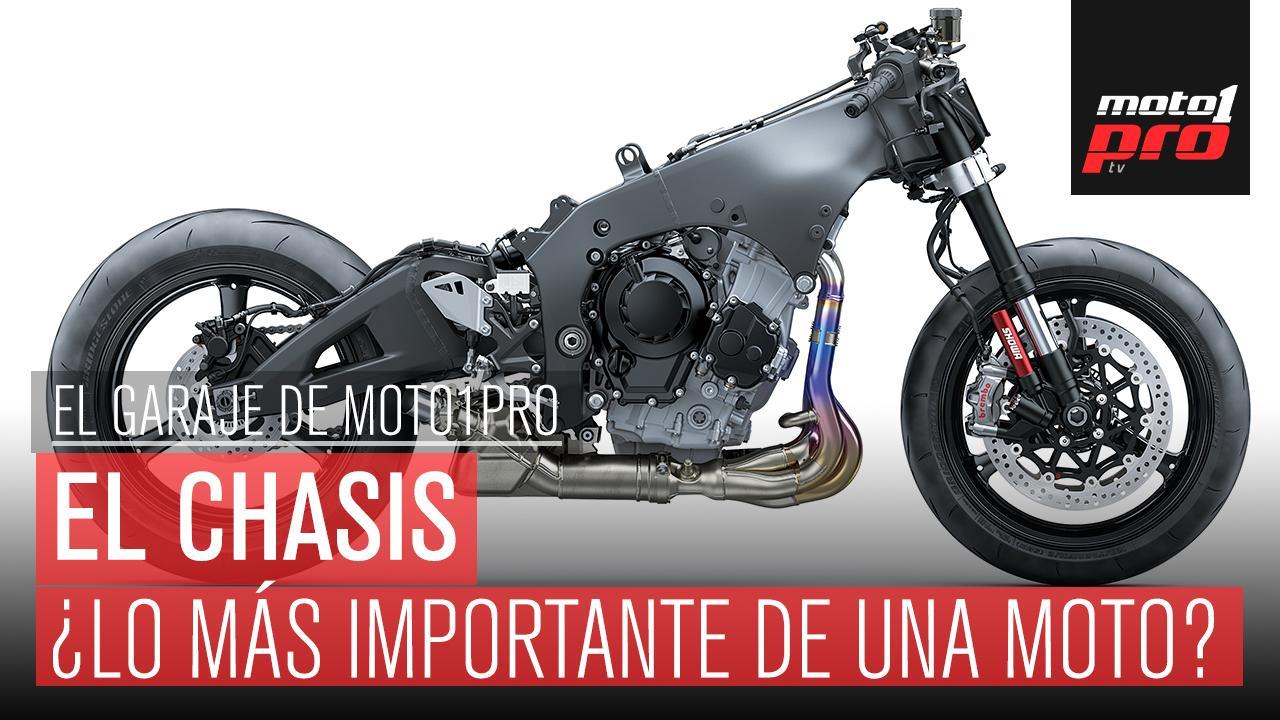 El chasis de la moto explicado en vídeo