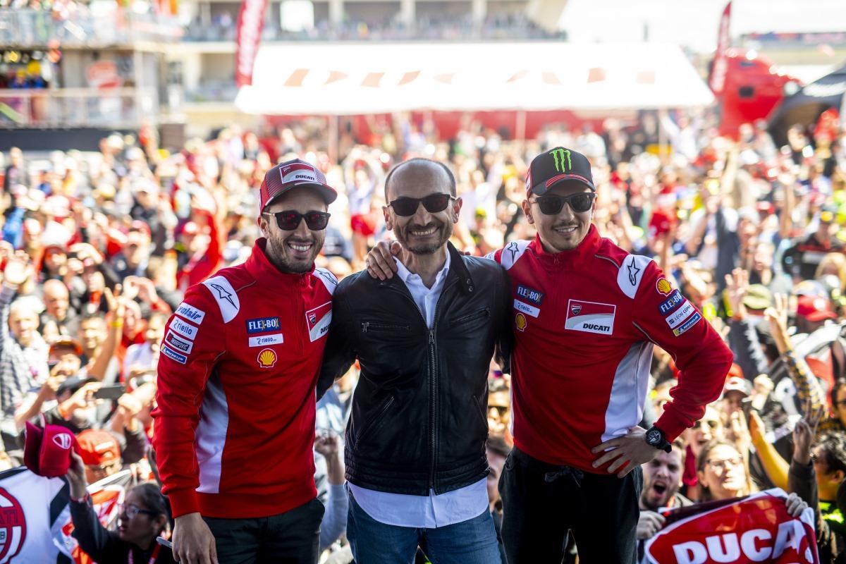 """Domenicali,el capo de Ducati, pidió sancionar al """"sucio"""" de Márquez"""