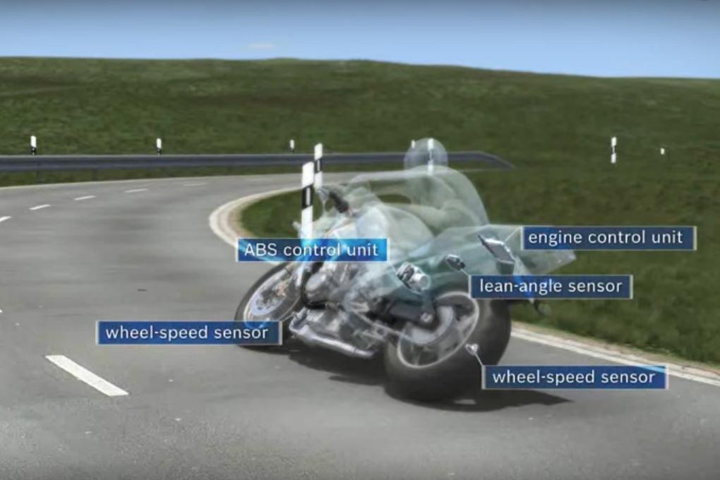 Control de tracción en moto