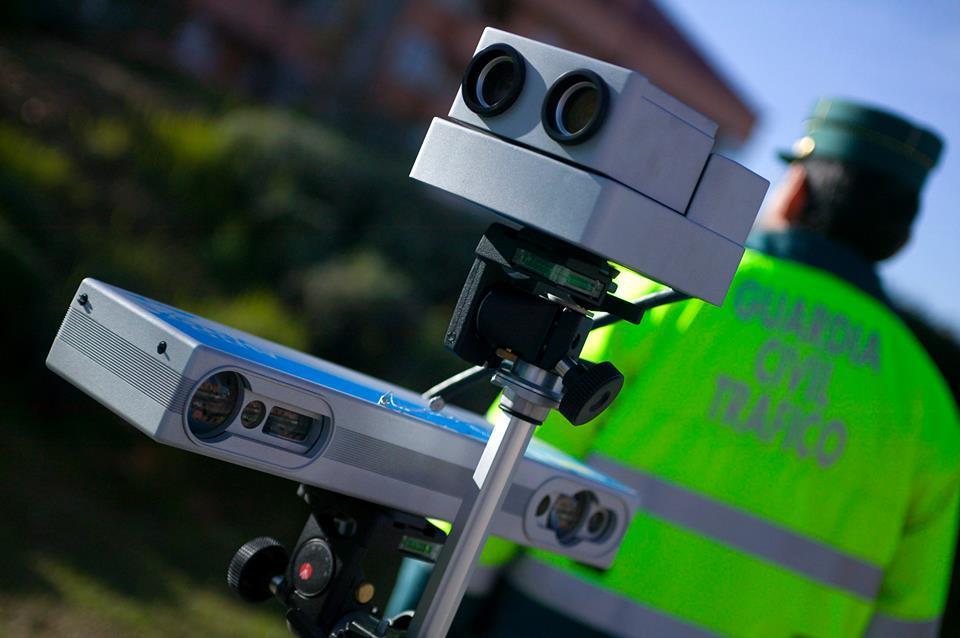 Radares en carreteras convencionales