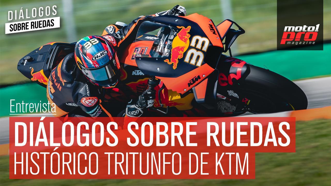 Diálogos sobre ruedas. Histórico triunfo de KTM