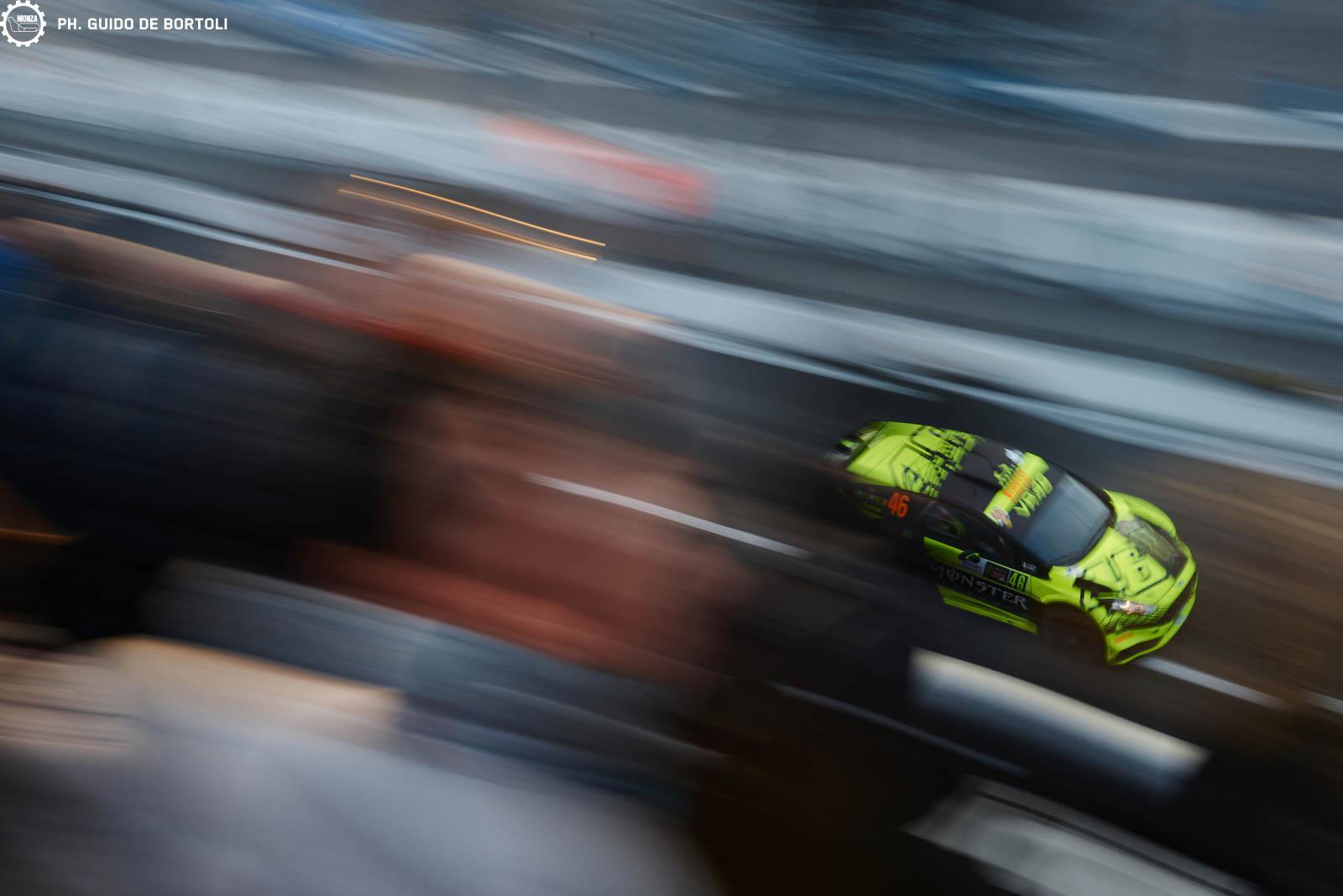 Valentino Rossi en el Monza Rally Show 2015