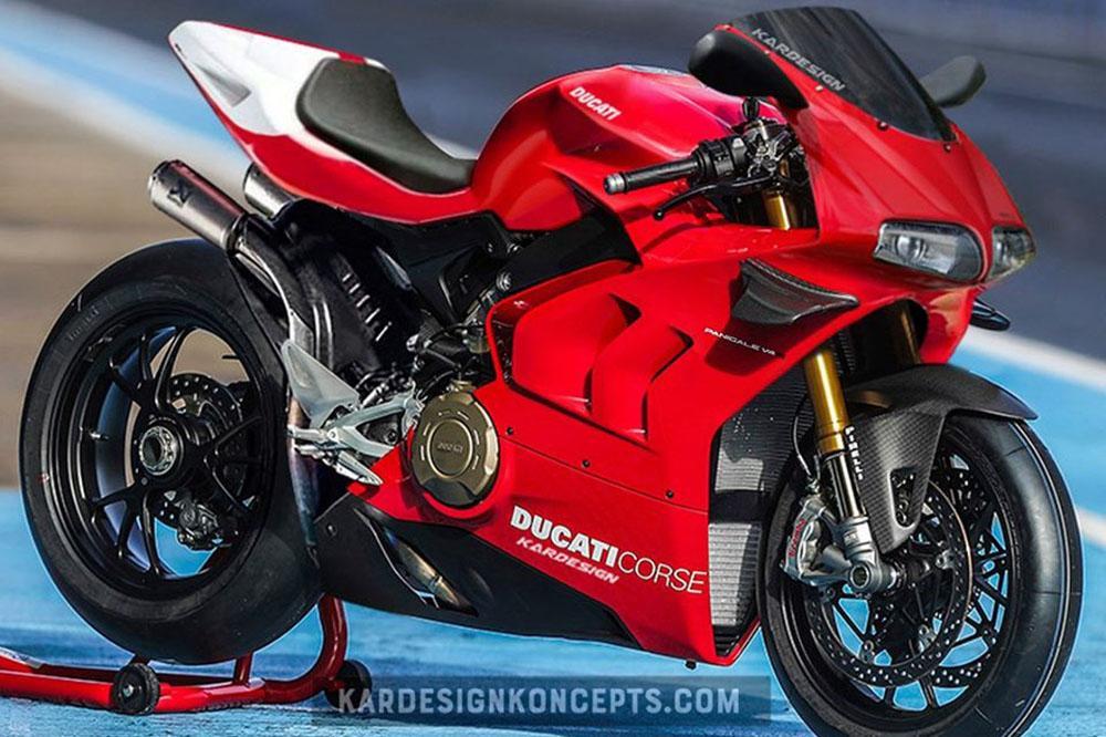 Ducati Panigale V4 Superleggera 916 de Kardesign