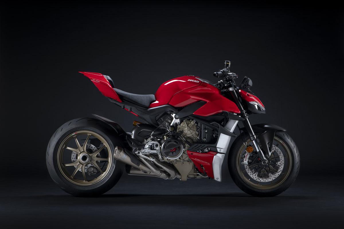 Ducati Streetfighter V4 performance