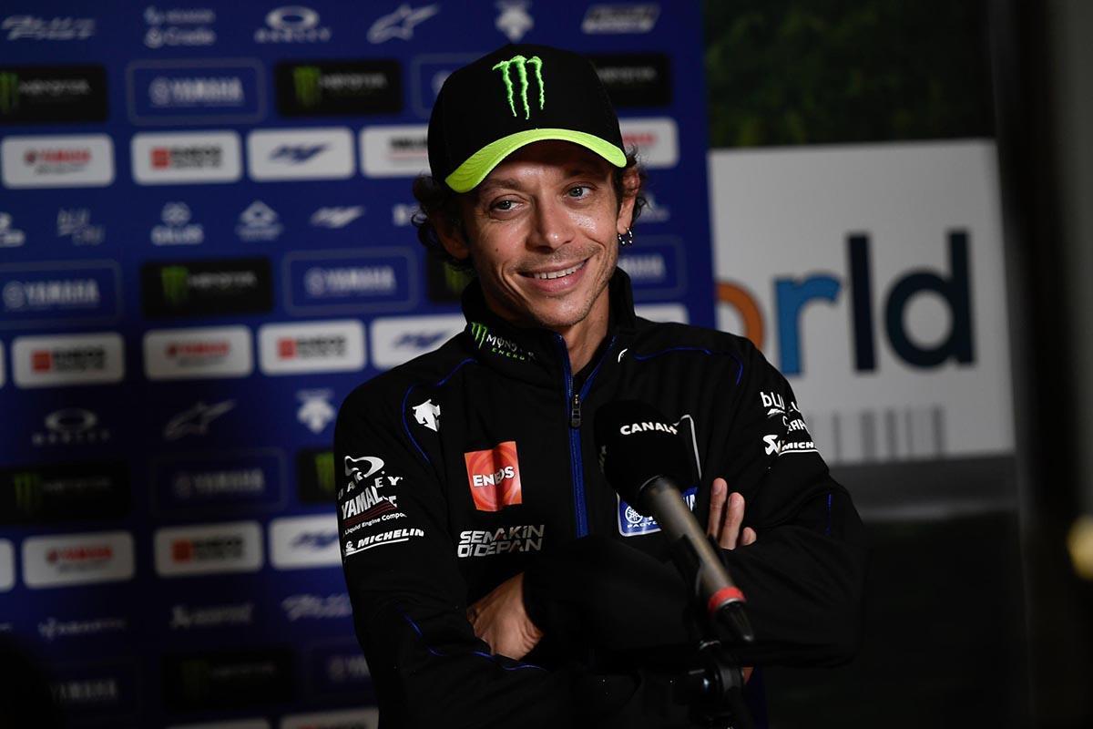 Valentino Rossi podría correr en Valencia este fin de semana