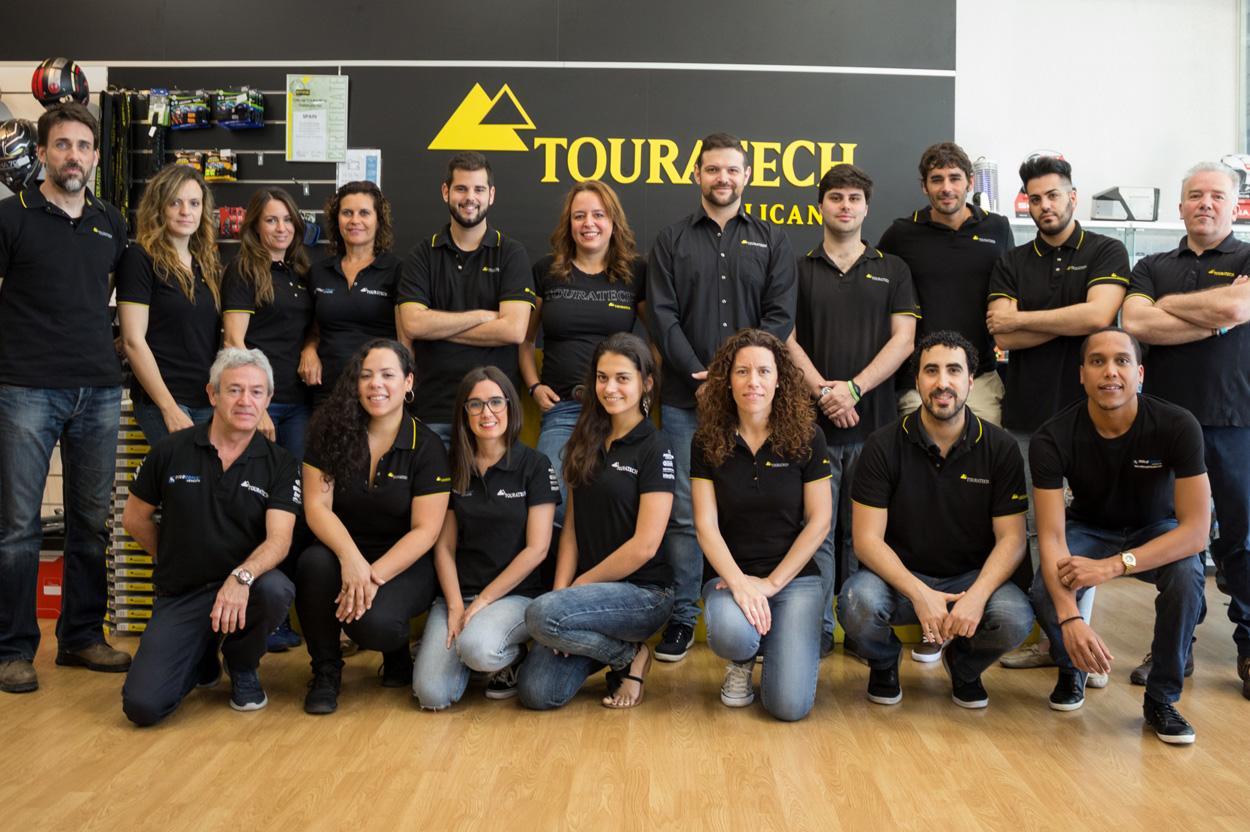 Equipo Touratech en España