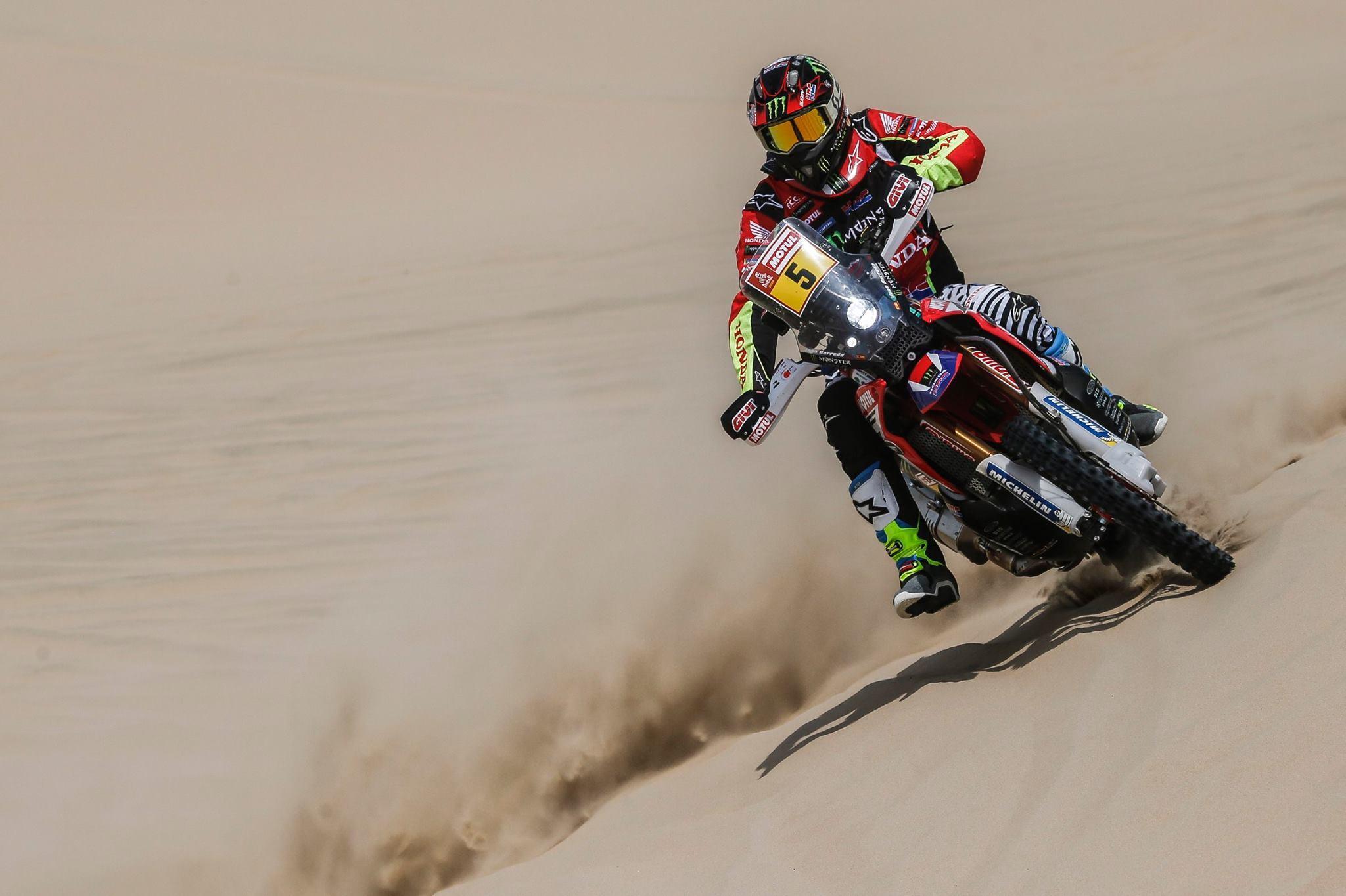 Dakar 2018 etapa 2 Joan Barreda