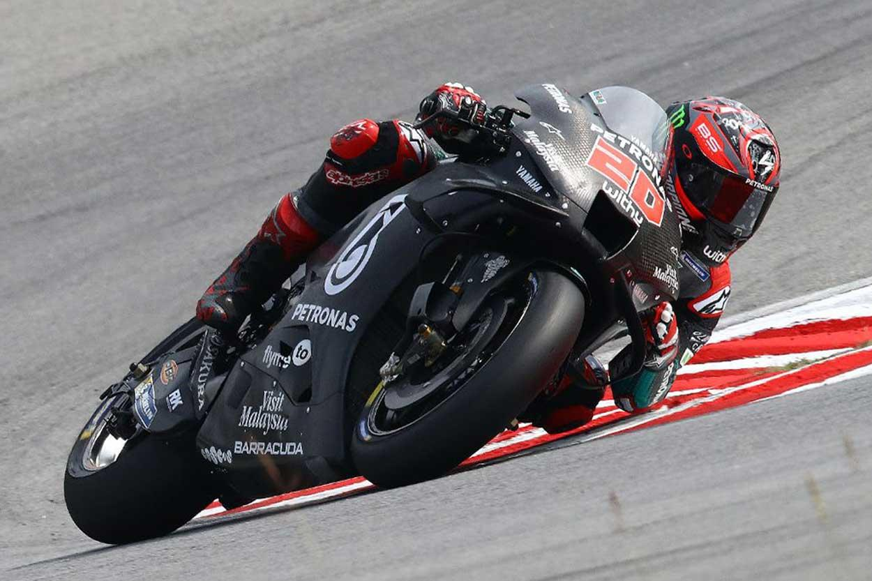 Fabio Quartararo ha sido el protagonista de los test MotoGP de Malasia 2020