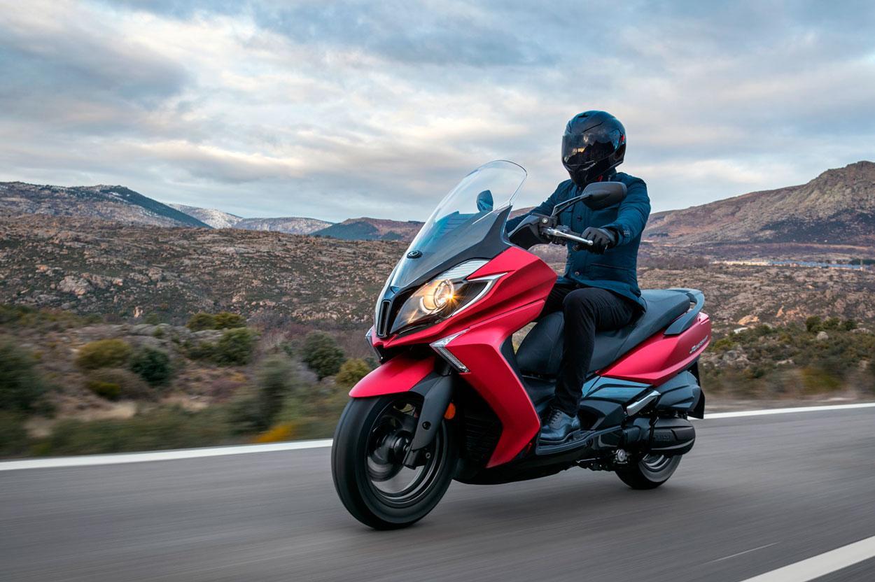 Planes de financiacion KYMCO para grandes scooter