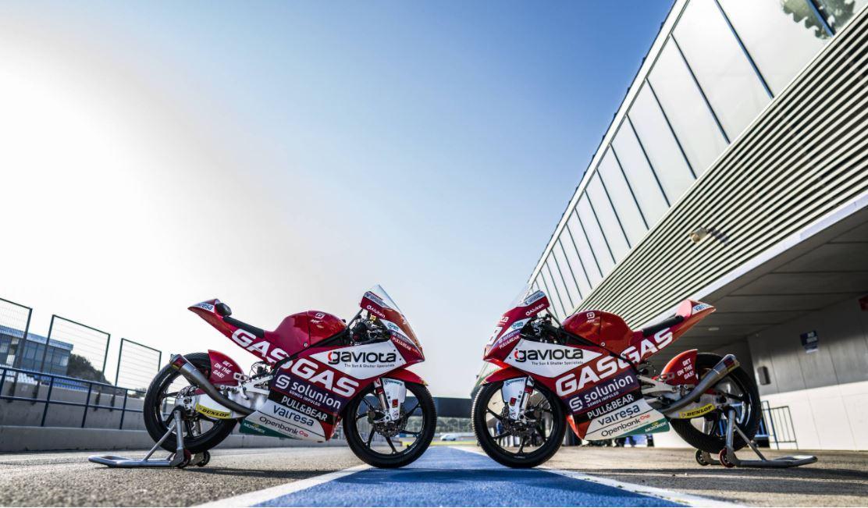 Gran debut de GasGas en los test de Jerez