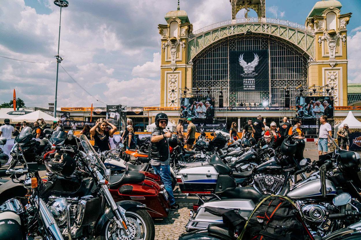 Harley Davidson 115 Aniversario en Praga