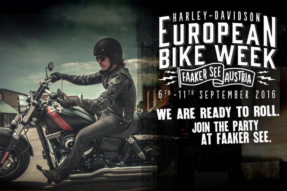Harley Davison European Week
