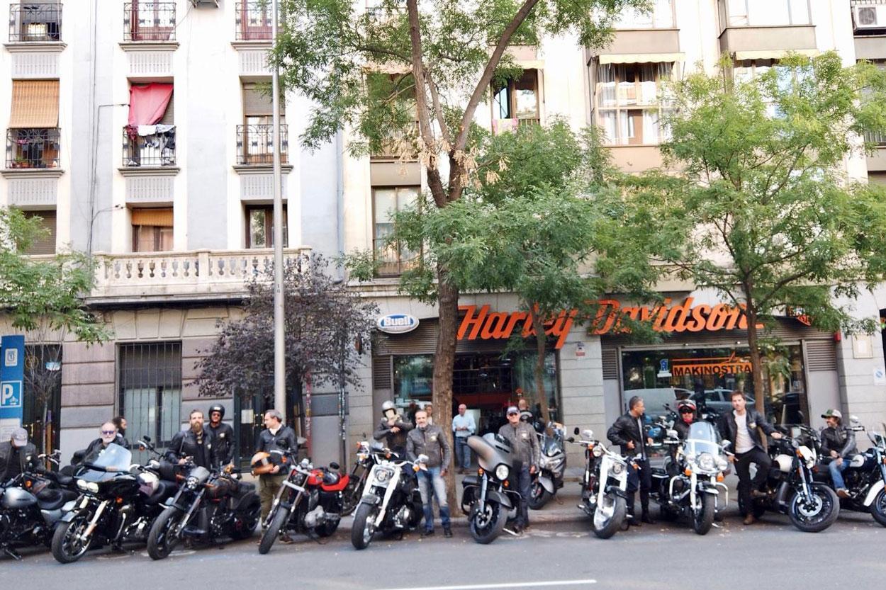 Viaje de Michelin y Harley Davidson al Gran Premio de Aragón