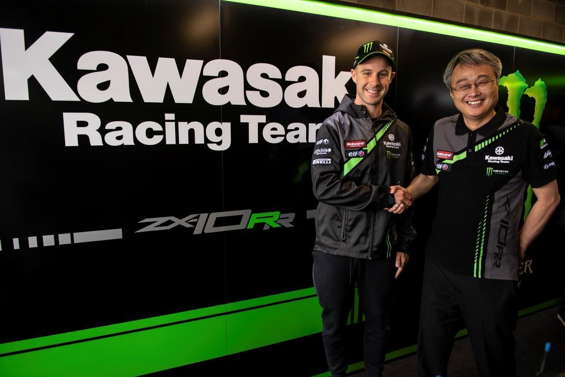 Jonathan Rea firma 2 años más Kawasaki