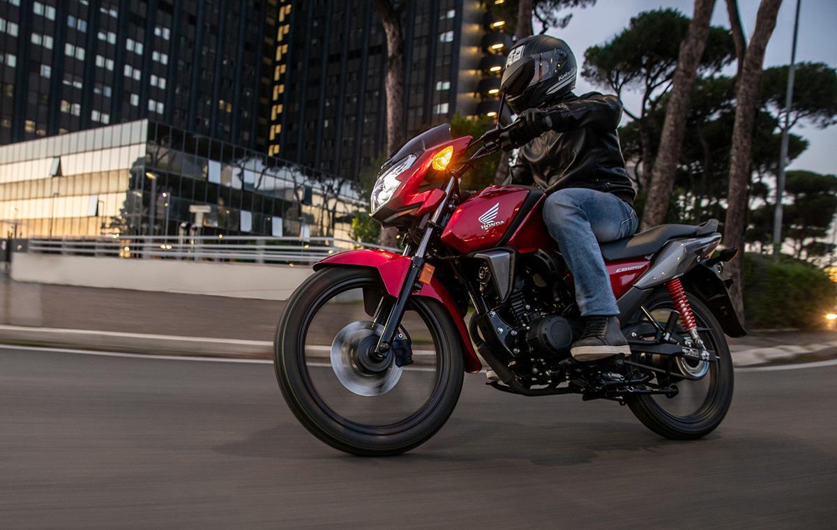 Nueva Honda CB125F 2021