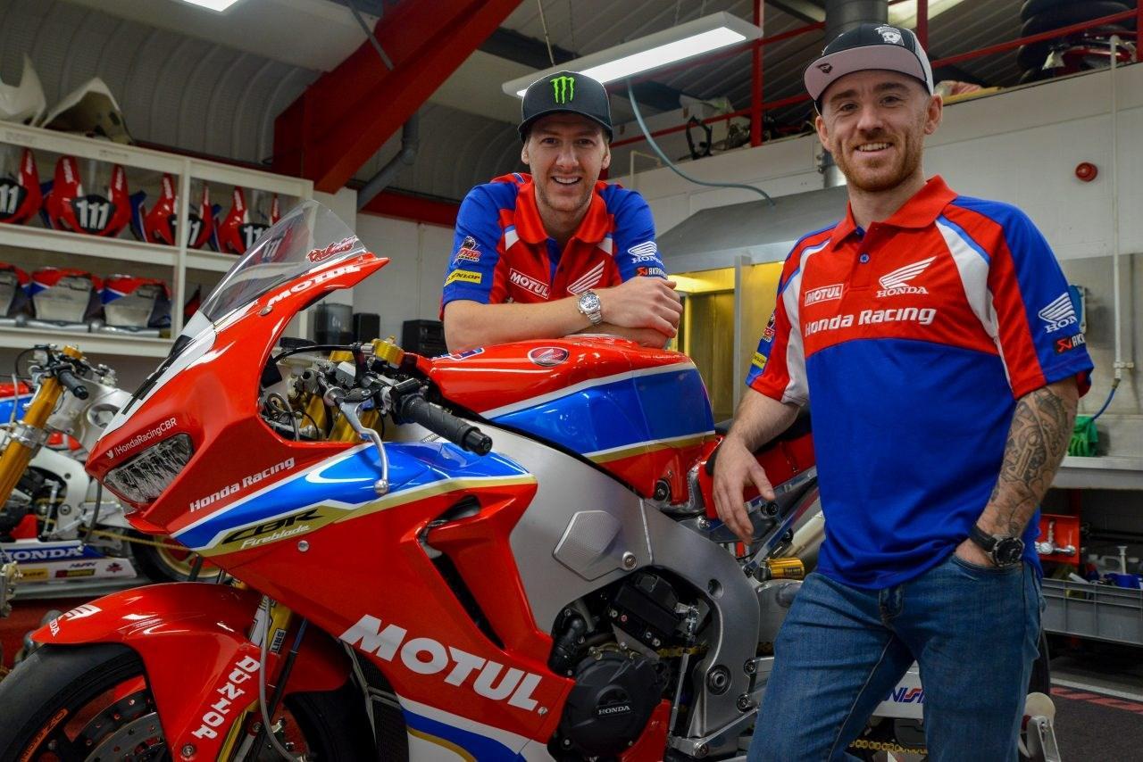 Honda TT Legends Racing Ian Hutchinson Lee McGuinness