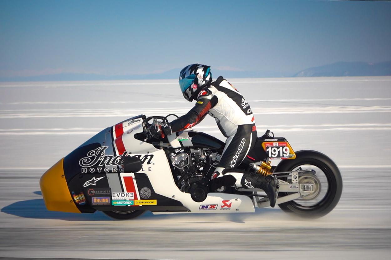 Indian Appaloosa Baikal Mile Ice Speed Festival