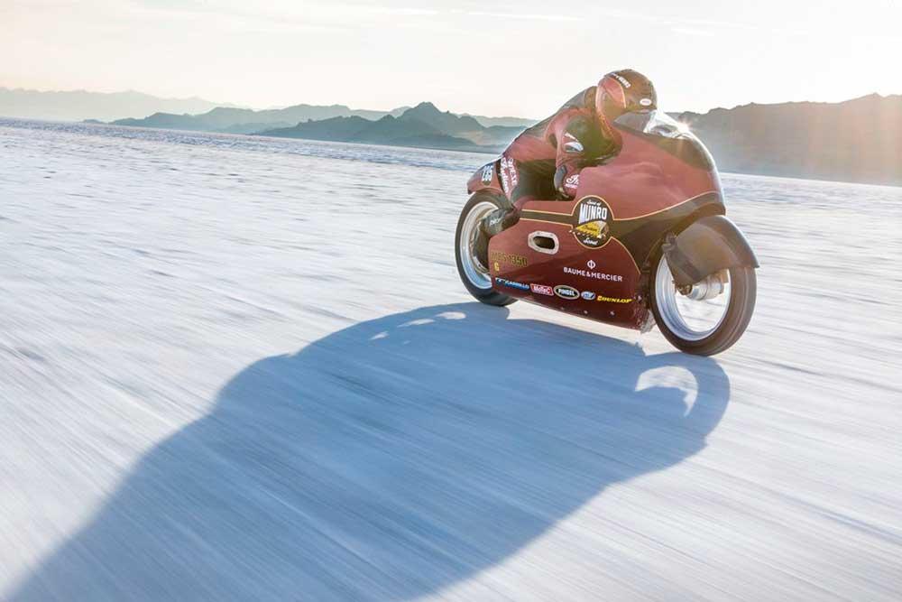 Indian y su nuevo récord de velocidad