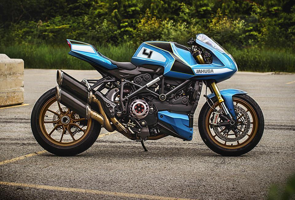 Ducati Streetfighter MH4 por Jakusa Design