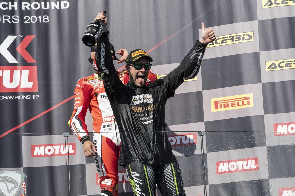 Jonathan Rea Campeón del Mundo SBK
