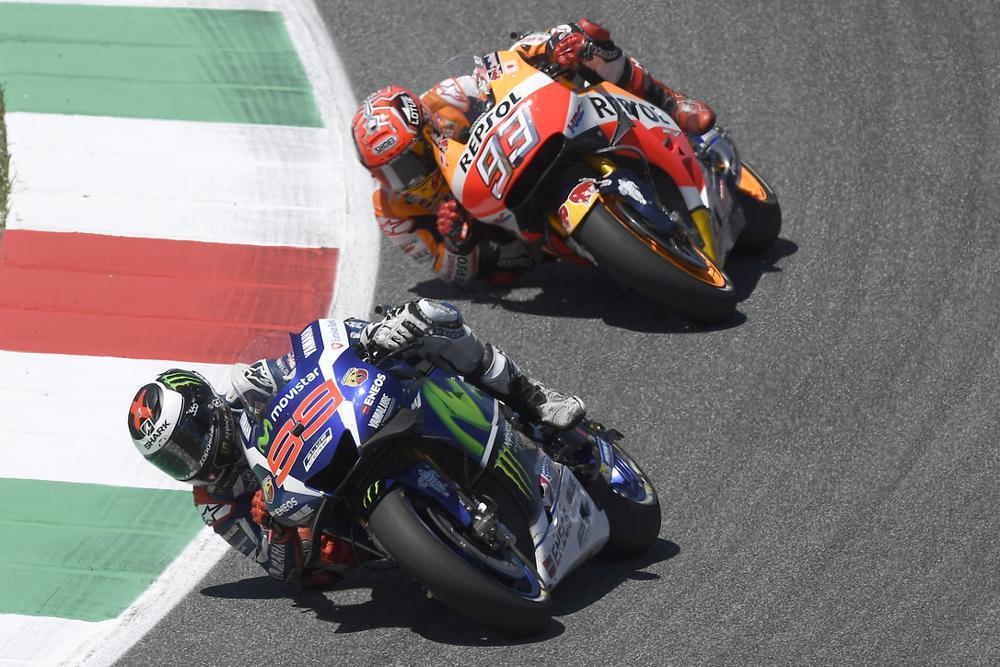 Los rebufos fueron la clave del GP de Italia de MotoGP