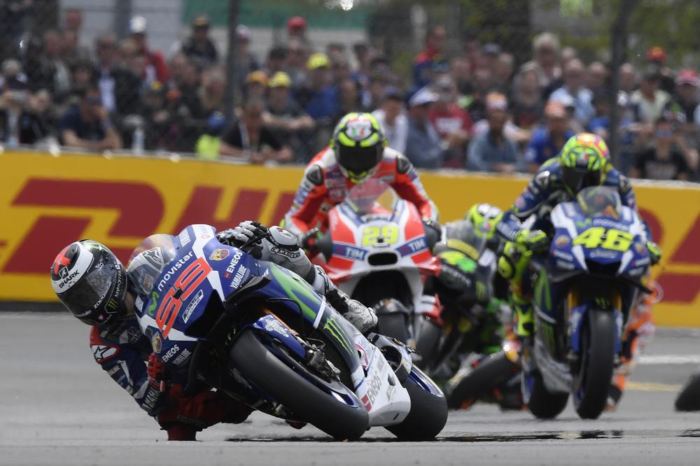 Jorge Lorenzo, victoria y liderato en el GP de Francia de MotoGP