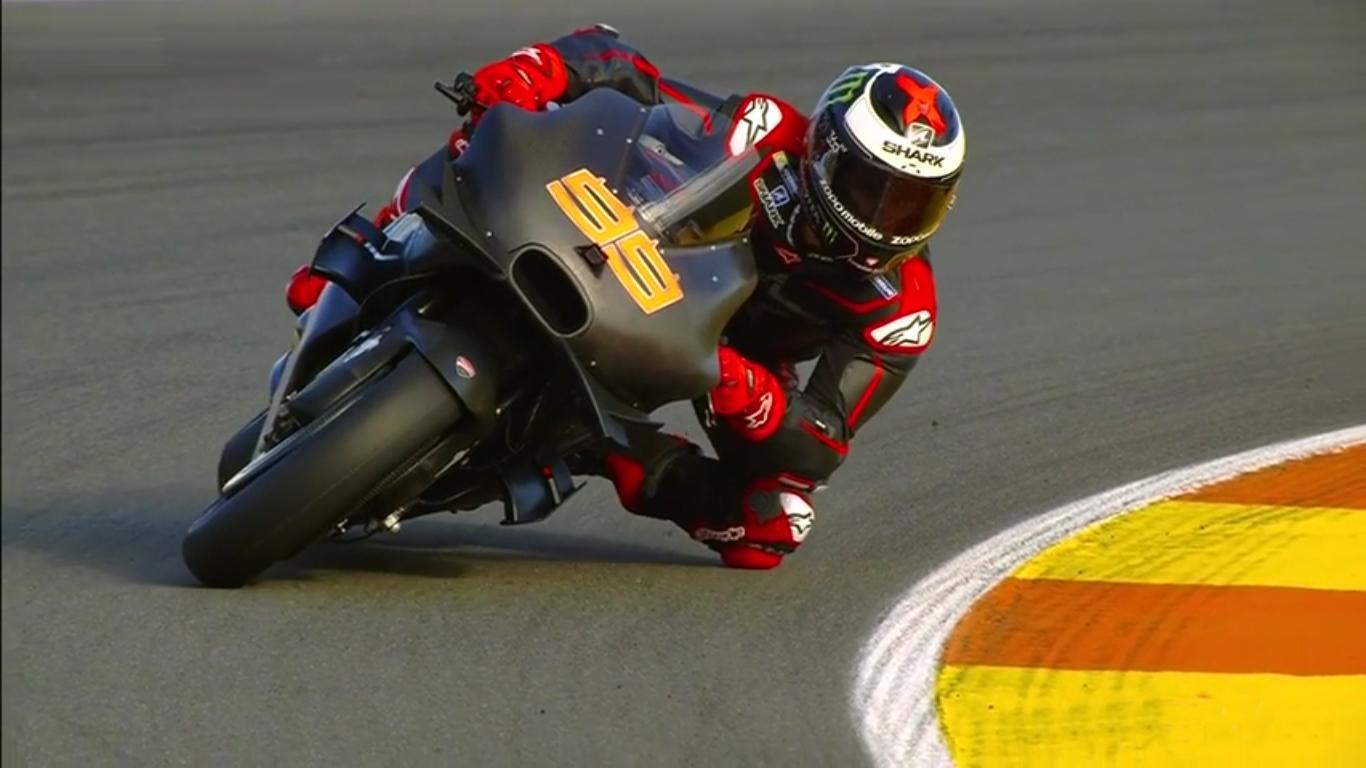 Jorge Lorenzo Ducati Valencia