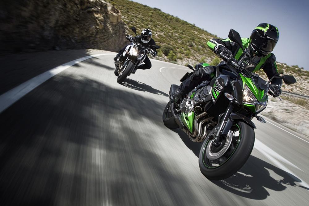 La Kawasaki Z 800 fue la moto más vendida en septiembre en España