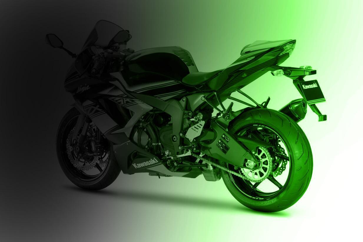 Kawasaki zx6r 2019