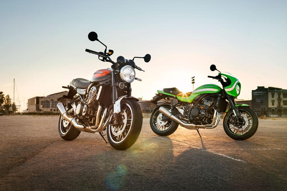 Kawasaki promociona las Z900 RS y Cafe