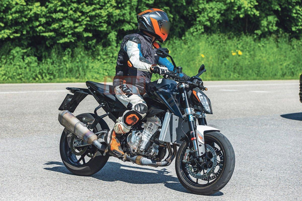 Nueva KTM Duke ¿990?: el siguiente paso (fotos espía)