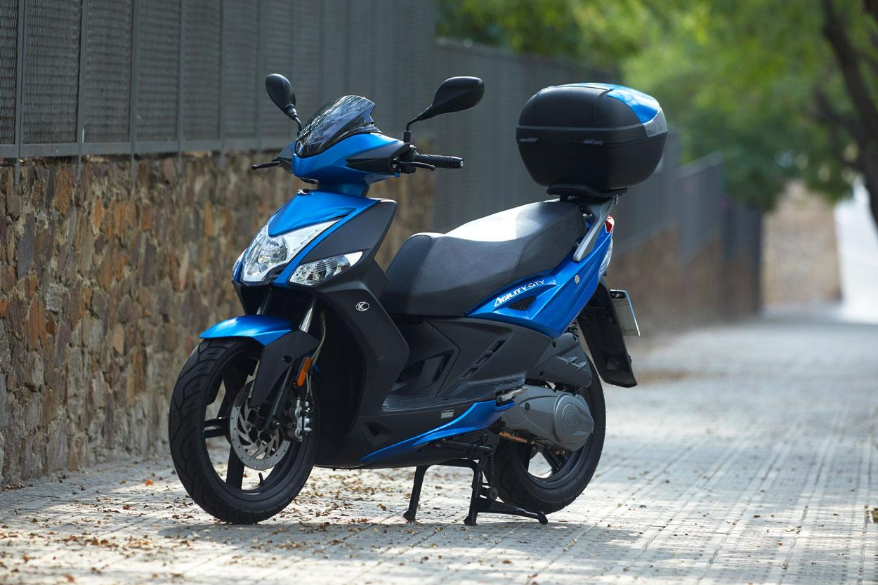 El KYMCO Agility City fue la moto más vendida en 2019