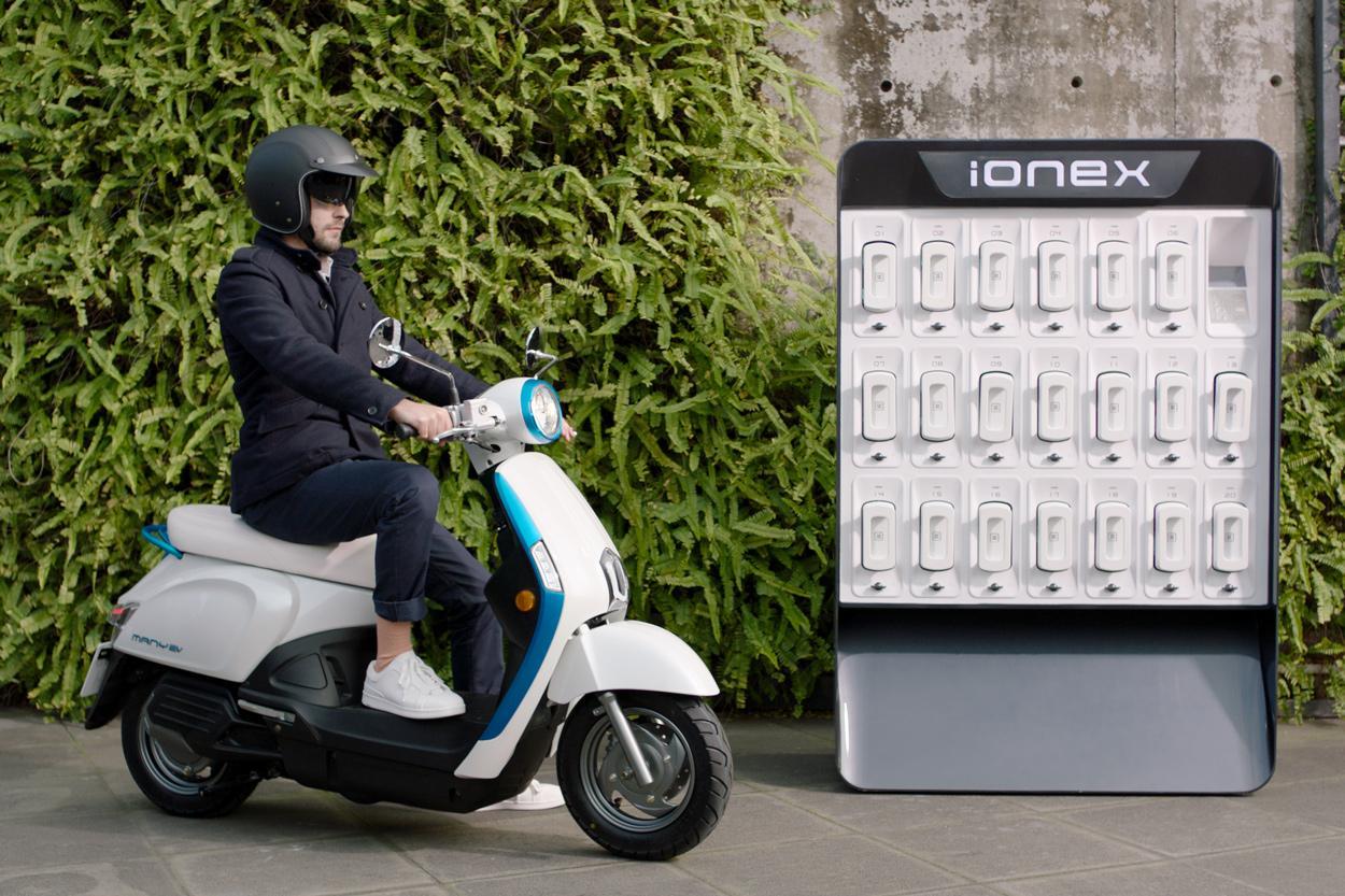 KYMCO Ionex, scooter eléctrico