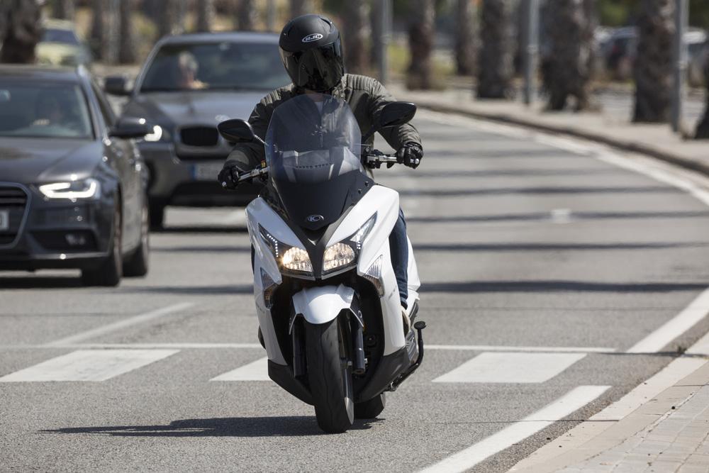 La fase 3 del protocolo anticontaminación en Madrid no afecta a las motos