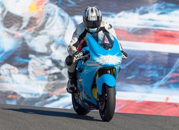 Loris Capirossi Lightning Motorcycle LS-218