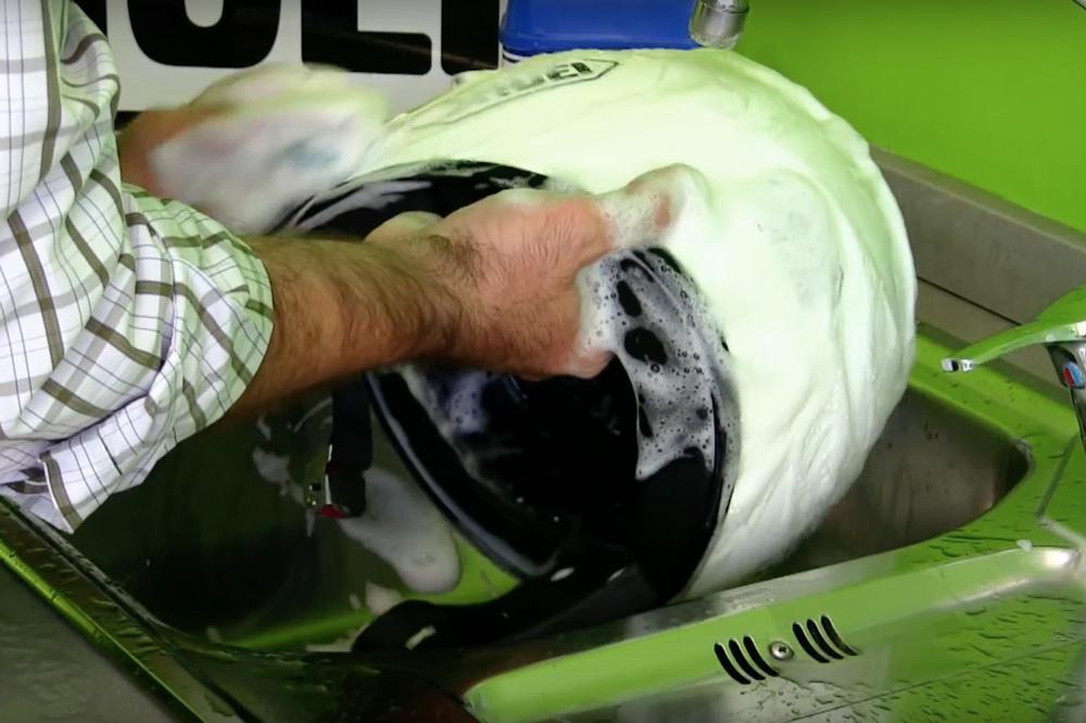 limpieza casco