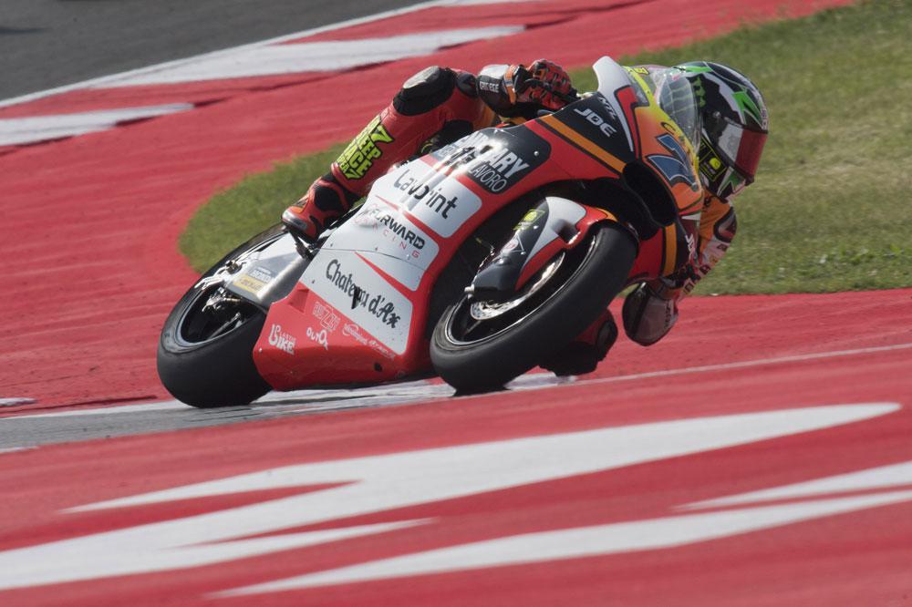 Primera victoria de Lorenzo Baldasarri en Moto2 en San Marino