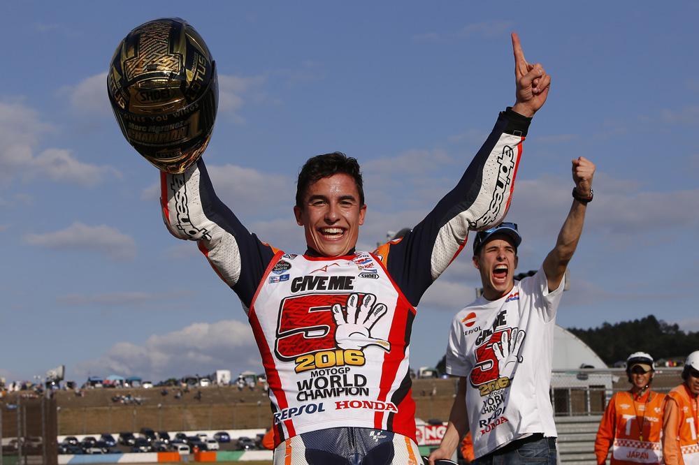 Marc Marquez, campeon del mundo MotoGP  2016