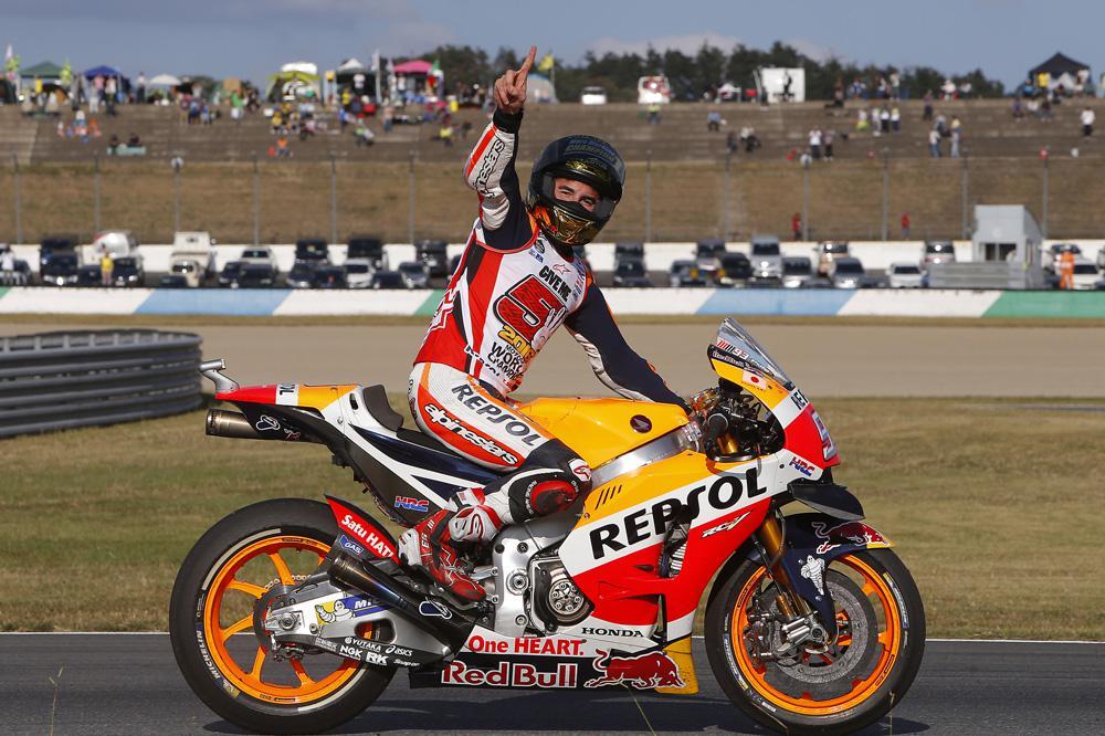 Victoria de Marc Marquez en el GP de Japon