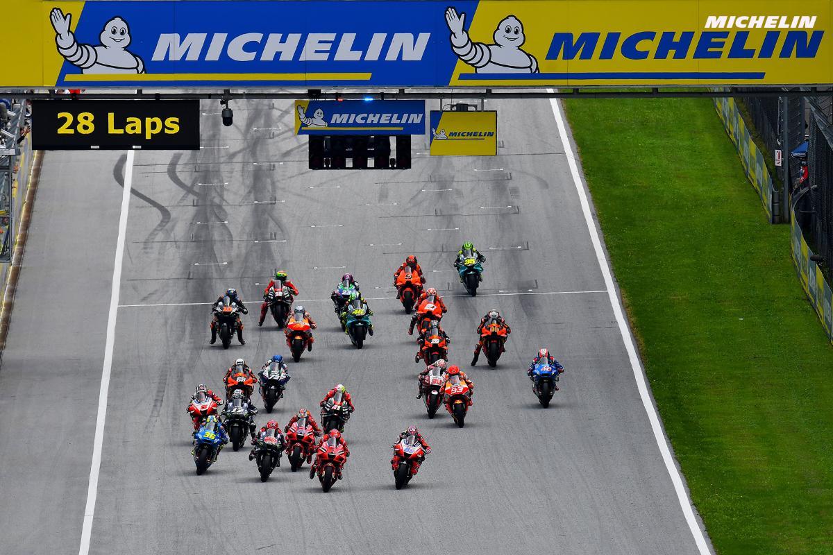 Descartados otros neumáticos en MotoGP: Michelin renueva hasta 2026