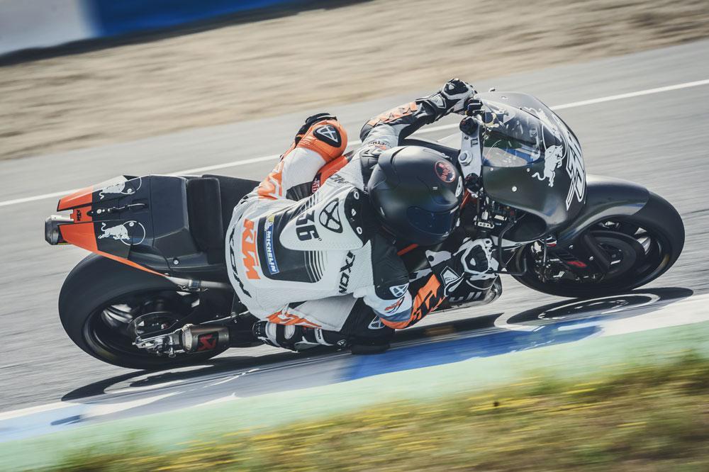 MIka Kallio durante los entrenamientos KTM MotoGP